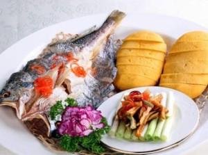 InternChina - Salted Fish and Corn Pancake