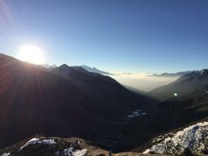 InternChina Chengdu Sunrise in Kangding Mountain