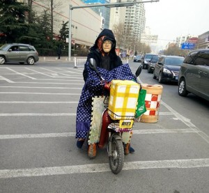 InternChina - Lady on a Scooter
