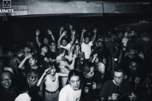 The crowd in UNITT nightclub in Qingdao