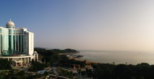 InternChina View over Zhuhai Jida Beach (2)