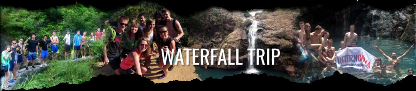 InternChina - Waterfall trip in Zhuhai
