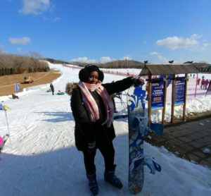 InternChina - Skiing at Dalian Linhai Ski Area