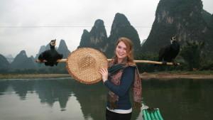 InternChina - Li River Cormorants Yangshuo