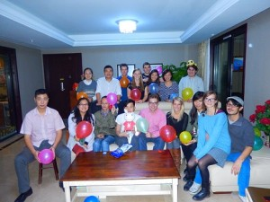 birthday party in china
