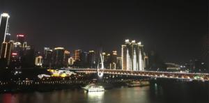 InternChina - Vue du Télécabine
