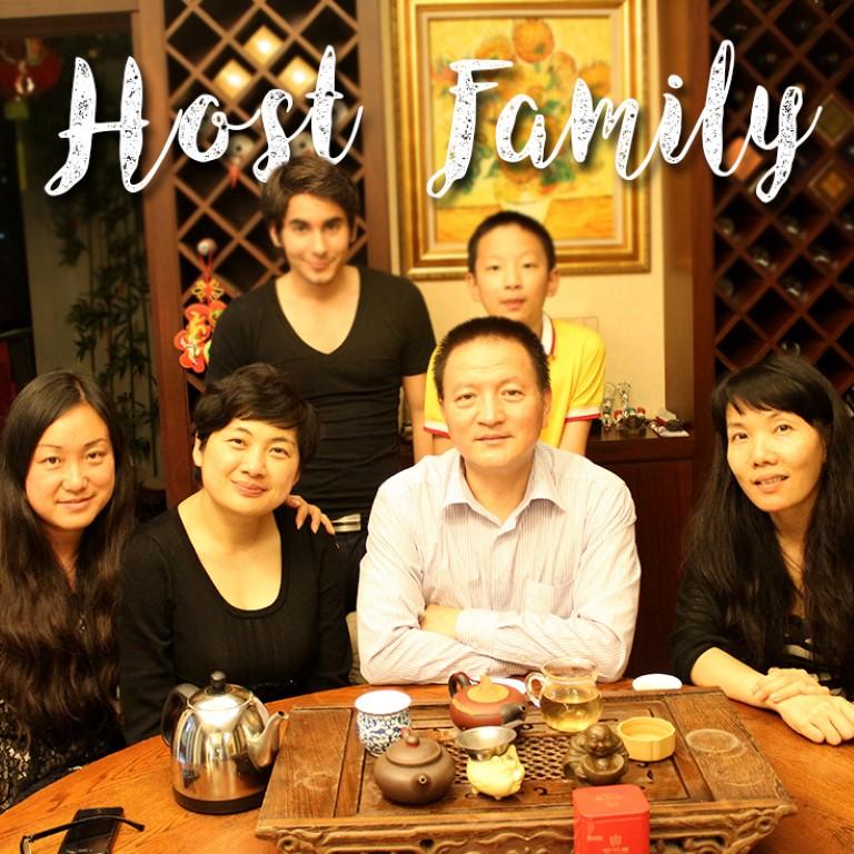 love my host family