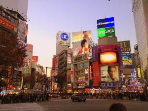 InternChina - organized traffic in Japan