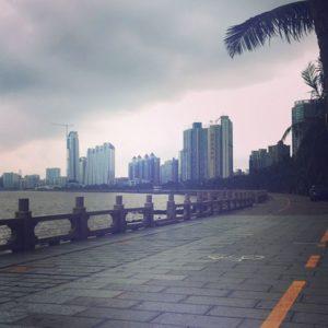Lovers Road in Zhuhai