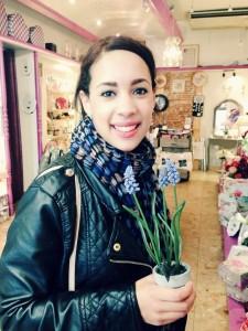 InternChina - Me and a Hyacinth