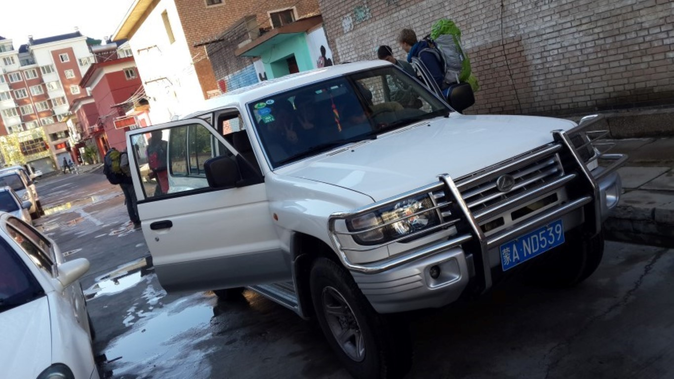 InternChina - our Jeep!!