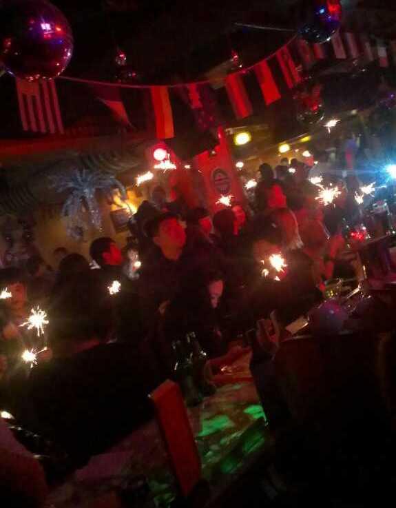 Qingdao LPG bar party