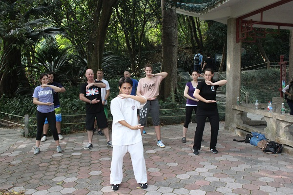 basic positions in Tai Chi