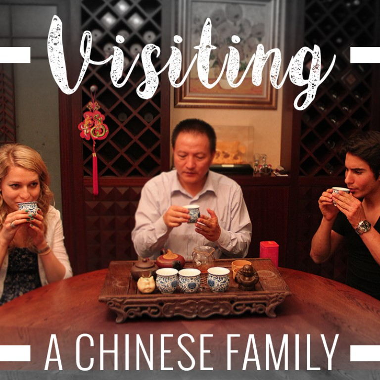 visiting a chinese family