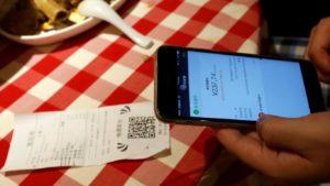 Bezahlen mit WeChat