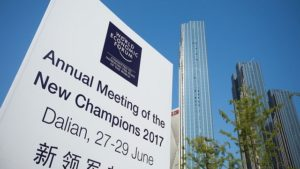 Annual Meeting of the New Champions 2017 Dalian Welcome Board
